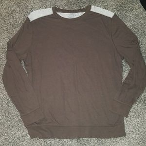 Old navy brown gray top size xl